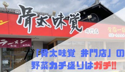 「骨太味覚 井門店」の野菜カチ盛りはガチ!!