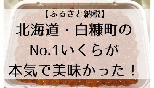 【ふるさと納税】北海道・白糠町のNo.1いくらが本気で美味かった!